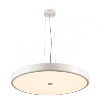 SLV SPHERA Pendelleuchte, LED, 2700K, rund, weiß, gefrostetes Acrylglas, Ø 75cm