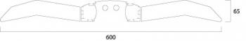Concord ACADEMY DUMMY 300MM WHT Leuchte Concord - 1 Stück