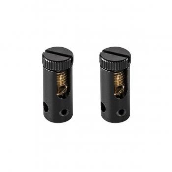 SLV EINSPEISER für TENSEO Niedervolt-Seilsystem, schwarz, 2 Stück