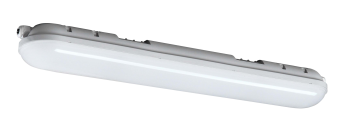 mlight LED-Feuchtraumleuchte IP 65, 36W, 230V, 6000K, 180°, 3500lm, 40000h, A+, nicht dimmbar, Farbe, grau, 1500mm
