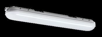 mlight LED-Feuchtraumleuchte IP 65, 36W, 230V, 6000K, 180°, 3500lm, 40000h, A+, nicht dimmbar, Farbe, grau, 1500mm