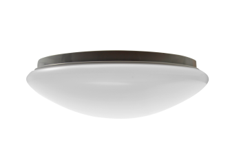 mlight LED-Deckenleuchte round IP44, 16W, 230V, 3000K, 120°, 1200lm, 40000h, A+, nicht dimmbar, Farbe, weiss