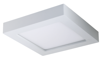 mlight LED-Ein/Unterbaupanel, 6W, 230V, 3000K, 90°, 380lm, 30000h, A+, dimmbar, Farbe, weiss