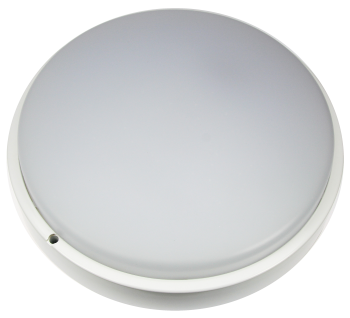 mlight LED-Feuchtraumleuchte round 350 IP 65, 30W, 230V, 4000K, 120°, 2800lm, 30000h, A+, nicht dimmbar, Farbe, weiss