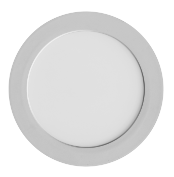 mlight LED-Anbaupanel Clip on round DIM, 24W, 230V, 4000K, 120°, 2300lm, 30000h, A+, dimmbar, Farbe, weiss