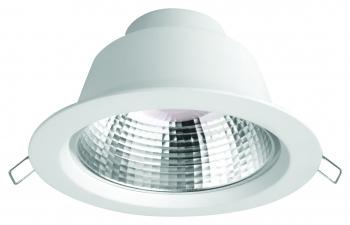 Megaman MM LED SIENA FR Downlight 145mm weiß 9,5W-855lm/940