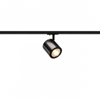 SLV ENOLA_C Strahler für 1Phasen Hochvolt-Stromschiene, LED, 3000K, schwarz, 35°, inkl. 1 Phasen-Adapter