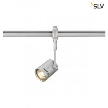 SLV BIMA 1 Lampenkopf für EASYTEC II, silbergrau, GU10, max. 50W