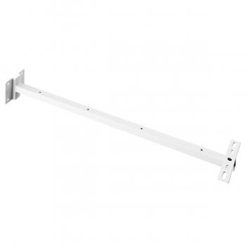 SLV Wandhalter für Outdoor Beam und MILOX Strahler, weiß, 80cm