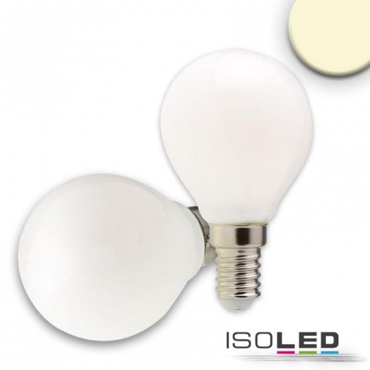 ISOLED E14 LED Illu, 4W, milky, dimmbar - warmweiß