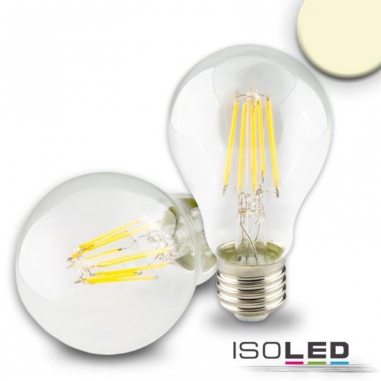 ISOLED LED Birne, 5W, klar,E27, dimmbar - warmweiß