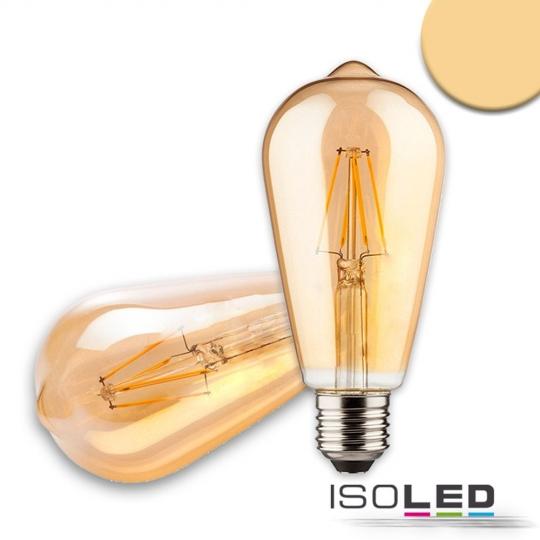 ISOLED Vintage Birne Line LED ST64