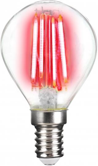 LM Deco LED Filament P45 4W-E14/Rot