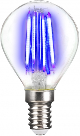 LM Deco LED Filament P45 4W-E14/Blau