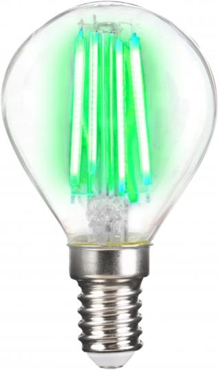 LM Deco LED Filament P45 4W-E14/Grün