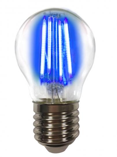 LM Deco LED Filament P45 4W-E27/Blau