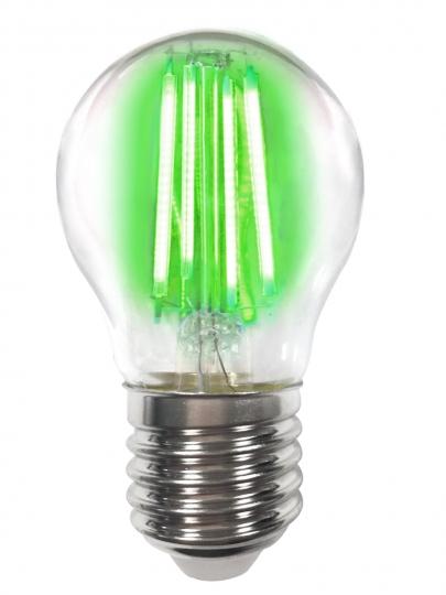 LM Deco LED Filament P45 4W-E27/Grün