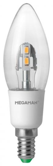 Megaman MM Crystal  LED Candlelight klar  - warmweiß