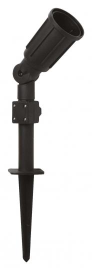 Megatron CAPPI IP54 schwarz 3m für LED PAR38 max. 23W-E27