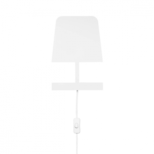 SLV Wall lamp PLATES,QT14, shade white, max. 25W