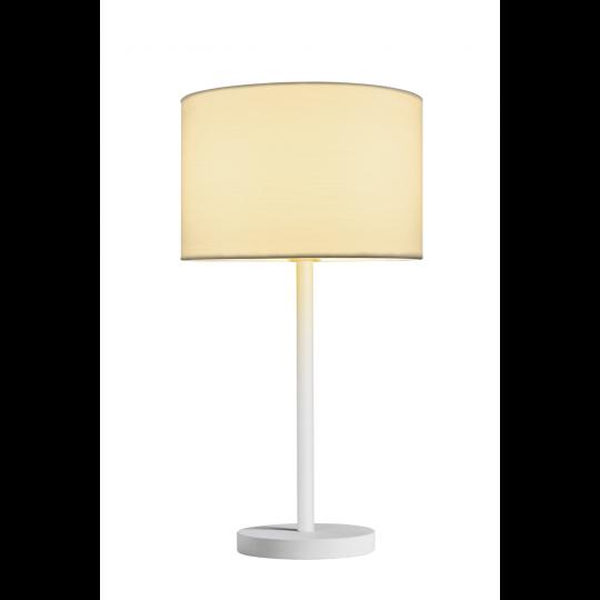 SLV Leuchtenschirm FENDA, rund, weiß, Ø/H 30/20 cm