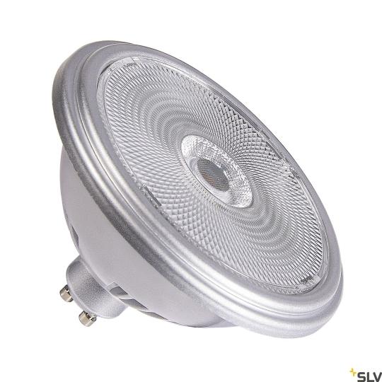 SLV LED-Leuchtmittel QPAR111 GU10 silber 12.5W - neutralweiß