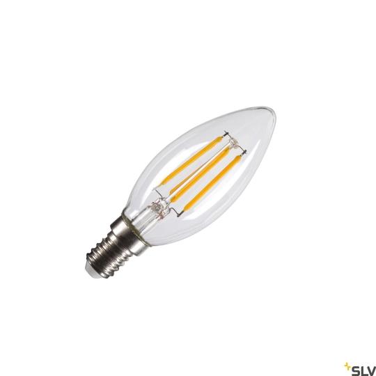 SLV LED Leuchtmittel transparent C35 E14 - warmweiß