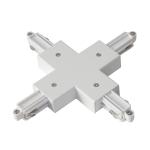 SLV X-Verbinder für 1 Phasen Stromschiene, Aufbauversion weiß