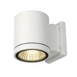 SLV ENOLA_C OUT WL wall light,round, white, 9W LED, 3000K,35°