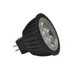 SLV LED MR16 Leuchtmittel, 3,8W, sMD LED, 2700K, 40°, nicht dimmbar