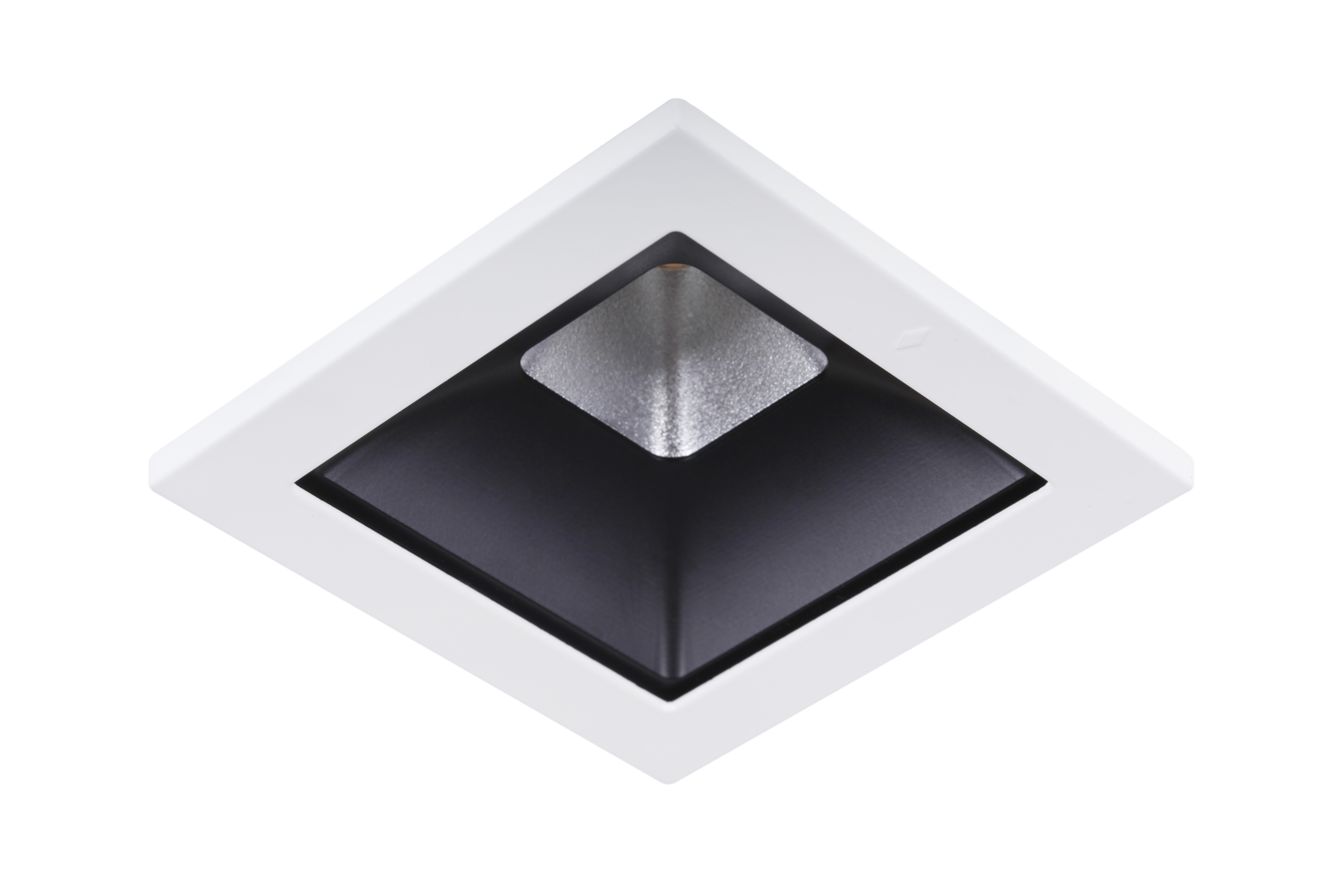 Concord Myriad quadrat. LED 15W 830 48° DALI Refl. schwarz Rahmen ...