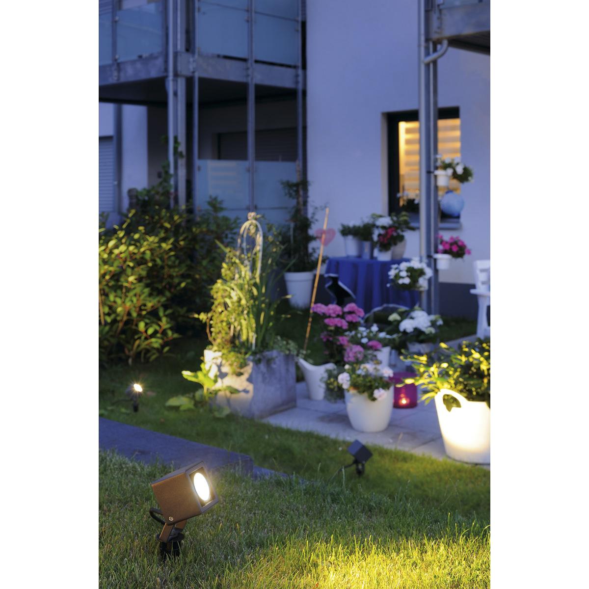 slv nautilus square led strahler eckig anthrazit 6w 3000k g nstig online kaufen bei. Black Bedroom Furniture Sets. Home Design Ideas
